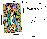 Saint Patrick Holy Cards (32)