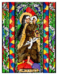 Saint Teresa of Avila  6x9 Window Cling
