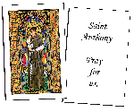 Saint Anthony Holy Cards (32)