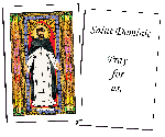 Saint Dominic Holy Cards (32)