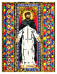 Saint Dominic 6x9 Window Cling