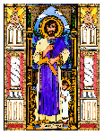 Saint Joseph 6x9 Window Cling