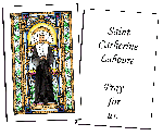 Saint Catherine of Siena Holy Cards (32)