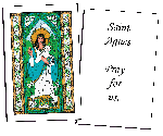 Saint Agnes Holy Cards (32)
