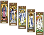 Stained Glass Mary Set 1