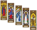 Stained Glass Mary Set 2
