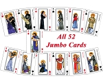 Pick A Saint, Any Saint Playing Cards