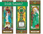 Stained Glass Saints Set 6