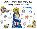 Boho - Mary, Star of the Sea (Summer)