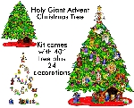 Holy Giants - Advent Christmas Tree