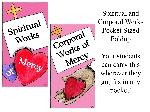 Pocket Sized Corporal & Spiritual Works-Catcher- 30 Pack