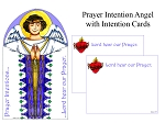 Prayer Intention Angel- 10 Pack
