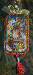 Christmas Assemblage Christmas Ornament