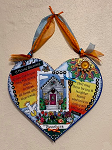 Emma's Grace - Heart - A House Blessing Add two names