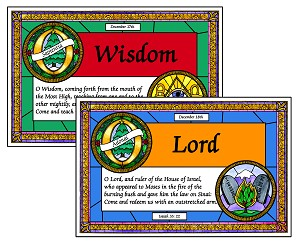 Stained Glass O'Antiphons